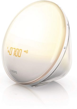 The Philips Wake up Light with Colored Sunrise Simulation