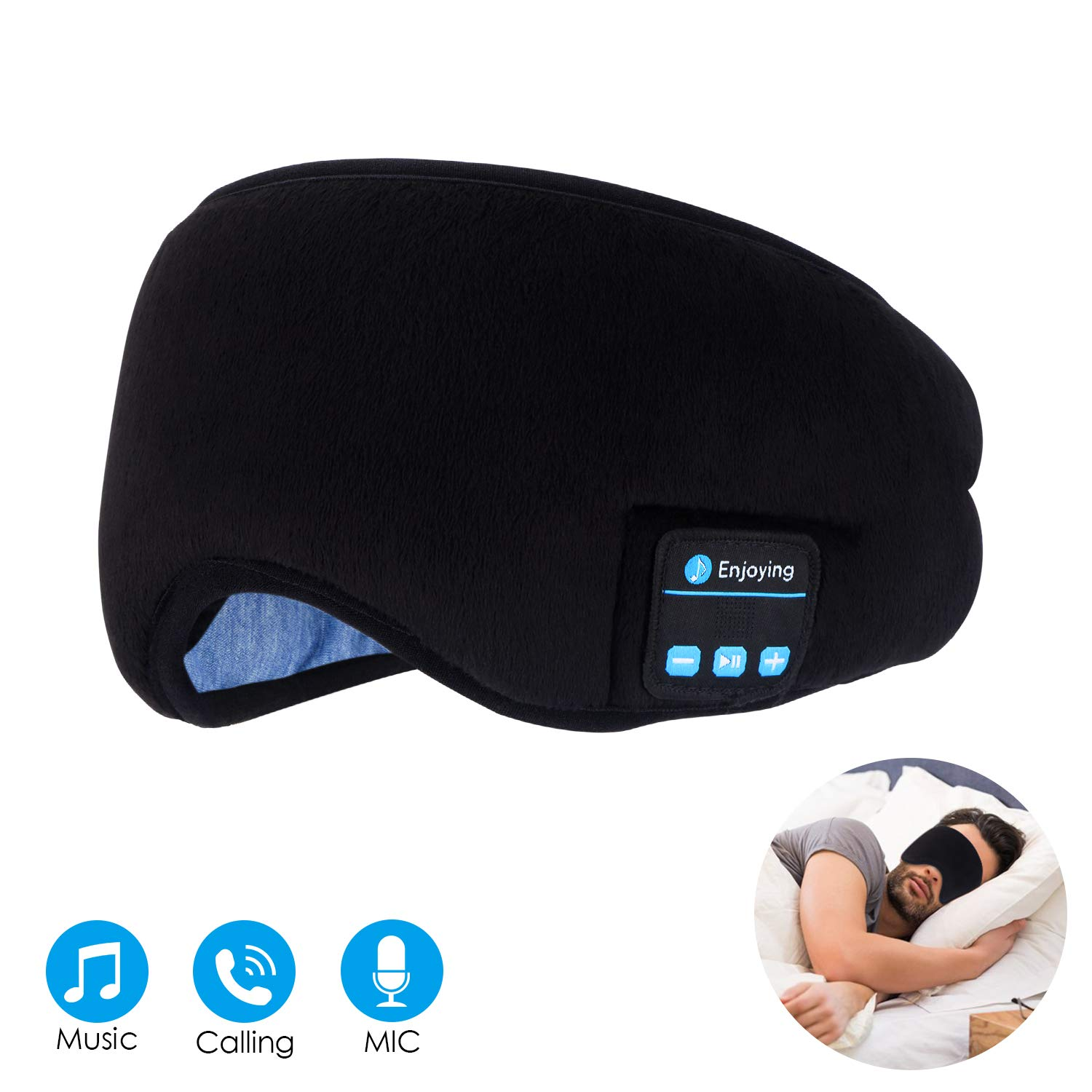 bluetooth sleep mask headphones