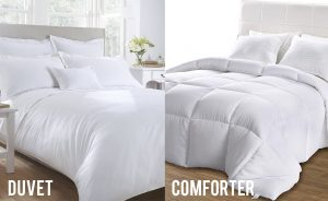 duvet comforter sidexside